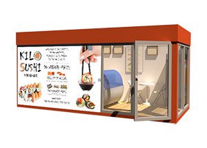KiloSushi kontener Orange 2