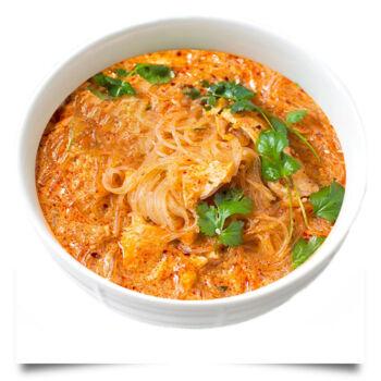 KiloSushi zupa łososiowa tło